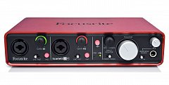 Аудиоинтерфейс FOCUSRITE SCARLETT 2I4 2nd Gen USB